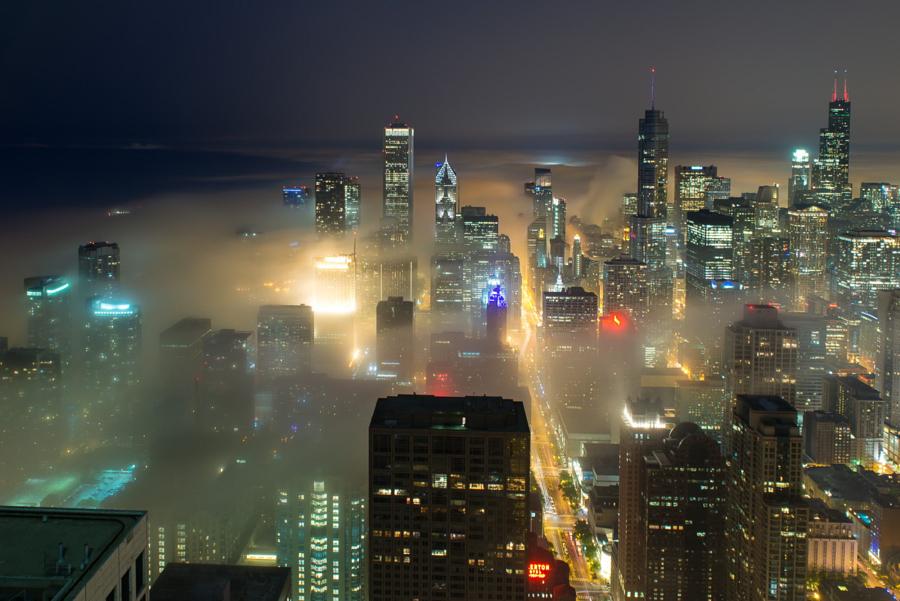 foto-grattacieli-chicago-nuvole-nebbia-peter-tsai-16