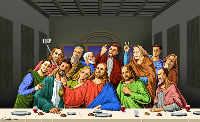holy-selfie-illustrazioni-vignette-satiriche-caricature-religione-gunduz-agayev-3