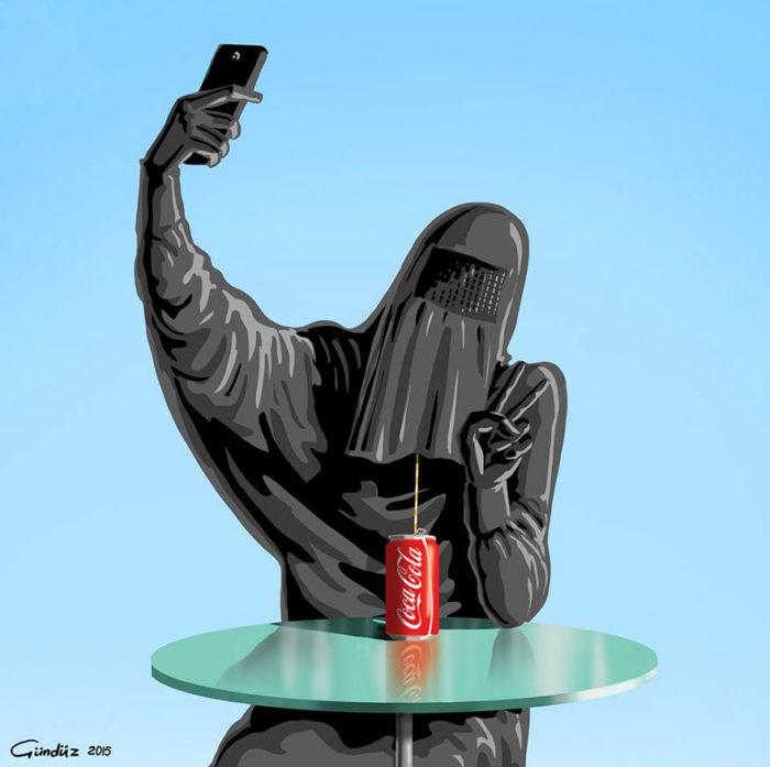 holy-selfie-illustrazioni-vignette-satiriche-caricature-religione-gunduz-agayev-4
