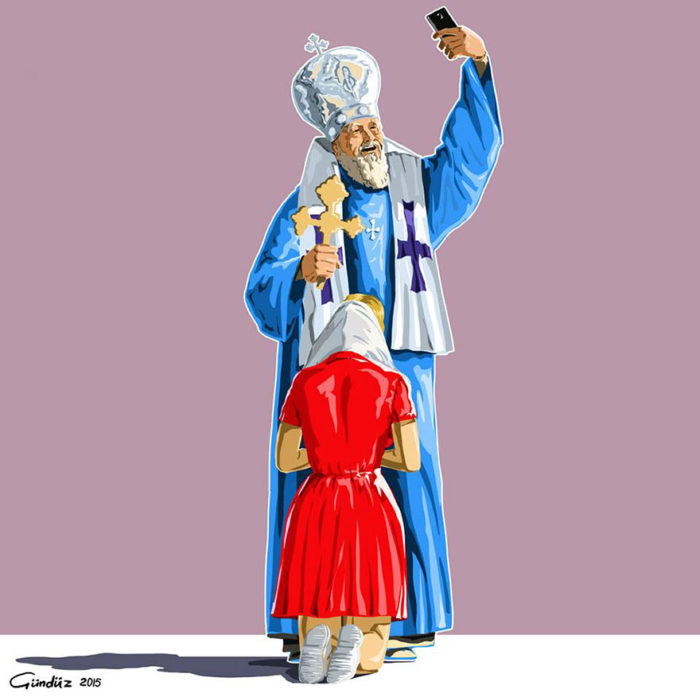 holy-selfie-illustrazioni-vignette-satiriche-caricature-religione-gunduz-agayev-7