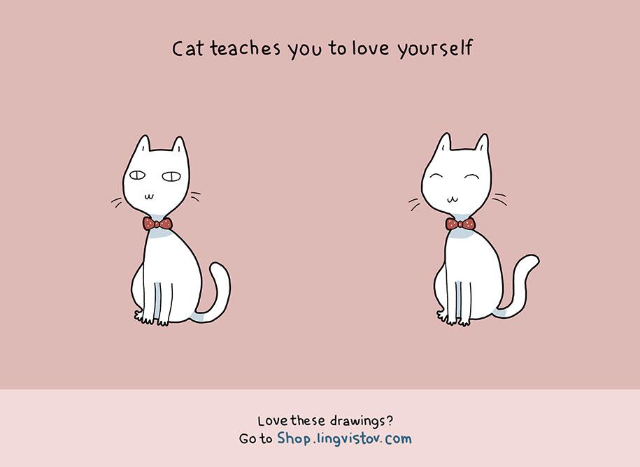 illustrazioni-comiche-vantaggi-avere-gatto-lingvistov-03