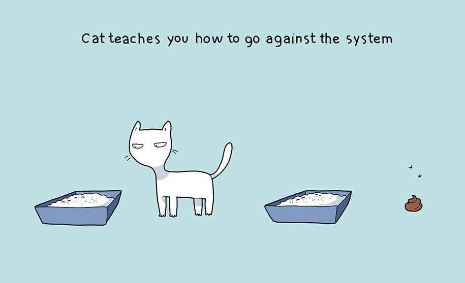 illustrazioni-comiche-vantaggi-avere-gatto-lingvistov-07
