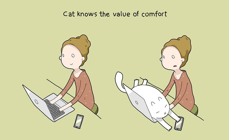 illustrazioni-comiche-vantaggi-avere-gatto-lingvistov-09
