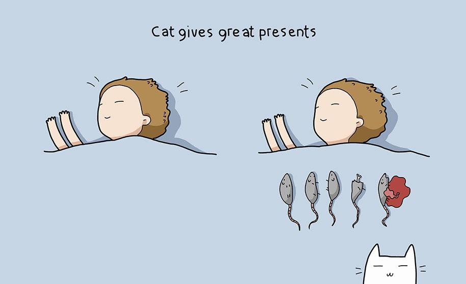 illustrazioni-comiche-vantaggi-avere-gatto-lingvistov-11