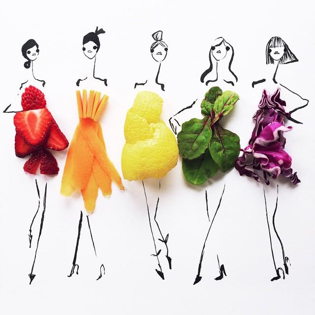 illustrazioni-moda-schizzi-cibi-alimenti-Gretchen-Roehrs-02