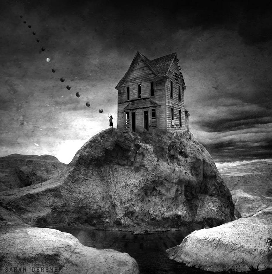 immagini-fotografia-surreale-bianco-e-nero-animali-ibridi-sarah-deremer-05