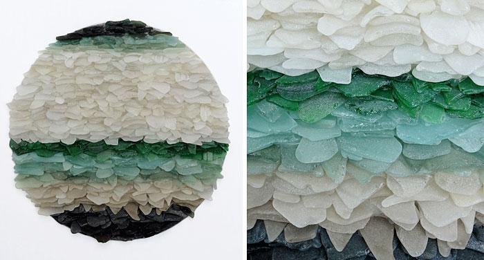 mare-vetri-riciclati-sculture-parete-jonathan-fuller-03