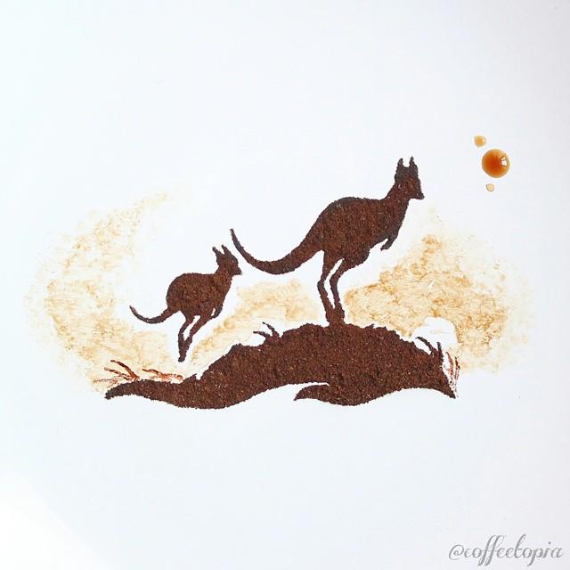 pittura-caffè-foglie-secche-acquerelli-al-nizar-14