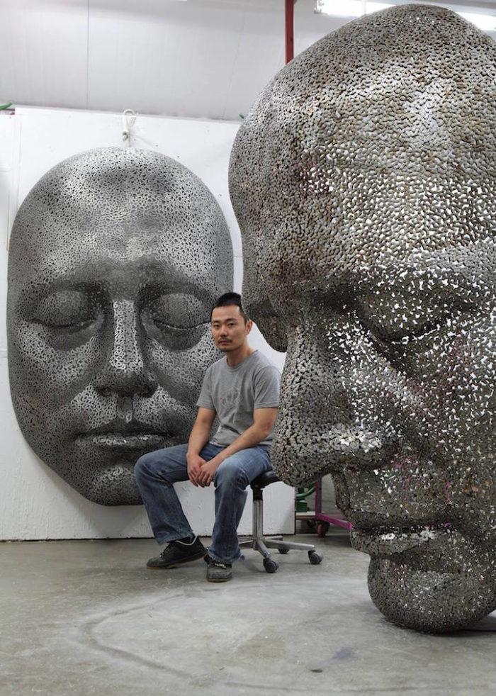 sculture-metallo-maglie-catene-bibicletta-young-deok-seo-08
