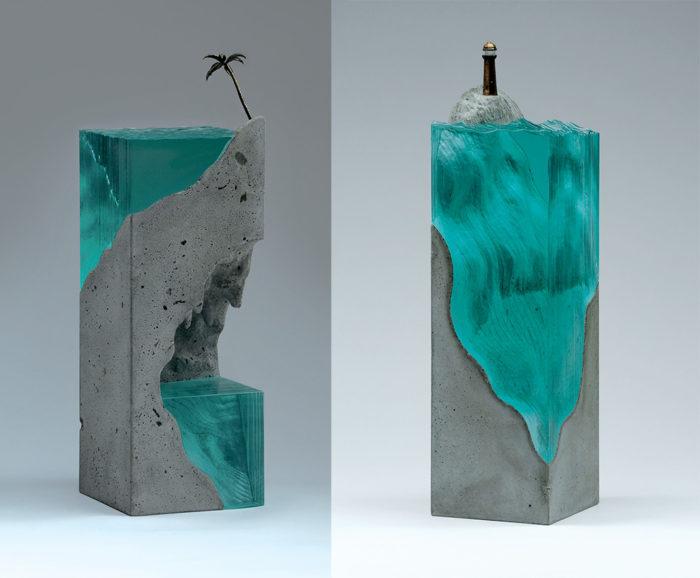 sculture-vetro-strati-acqua-mare-ben-young-10