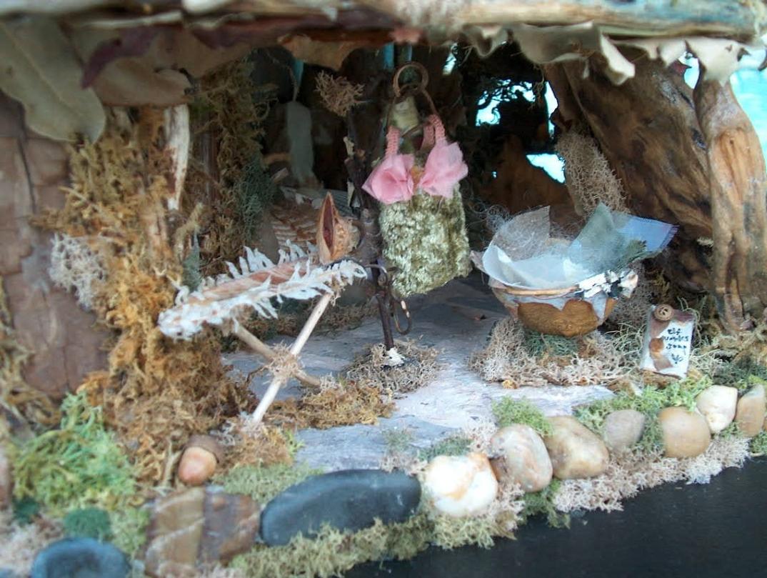 Case fiabesche in miniatura fatte a mano con materiali for Case fatte da architetti