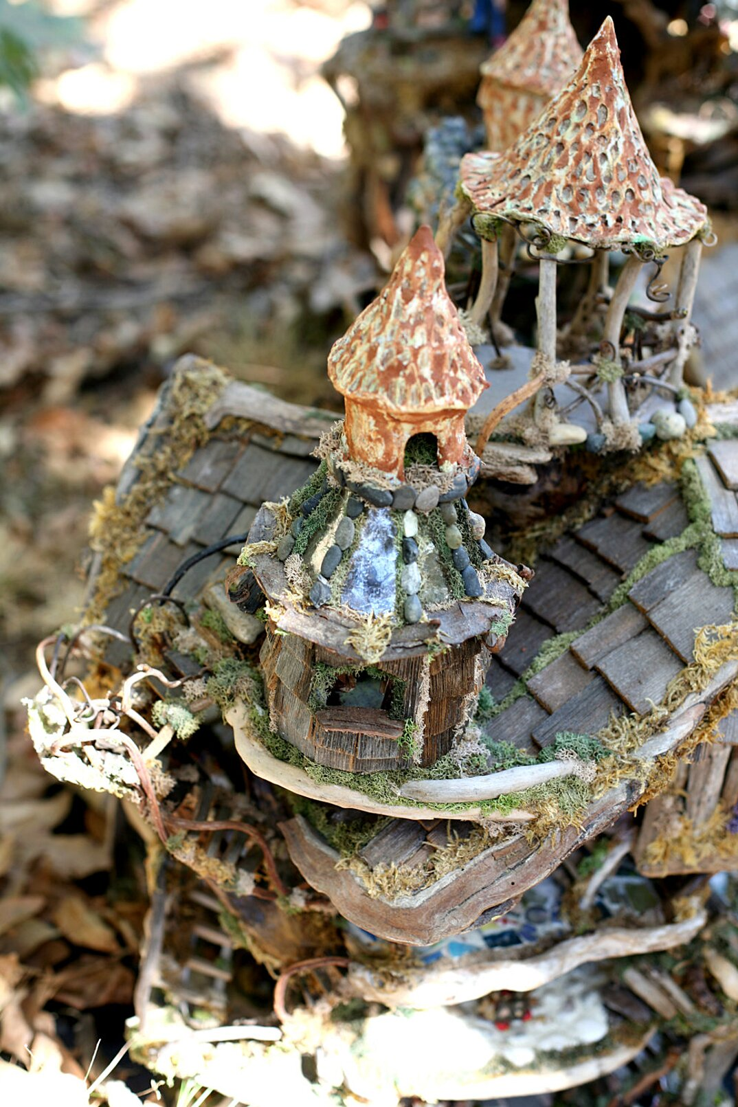Case Fiabesche In Miniatura Fatte A Mano Con Materiali