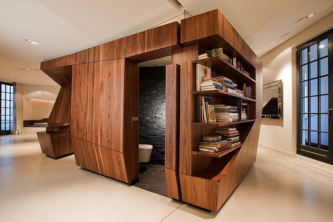 Cucina e bagno modulari che potete spostare all'interno della ...