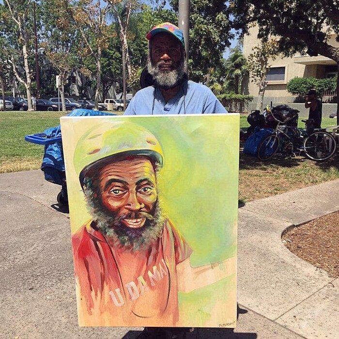 dipinti-ritratti-di-senzatetto-beneficenza-brian-peterson-1-keblog