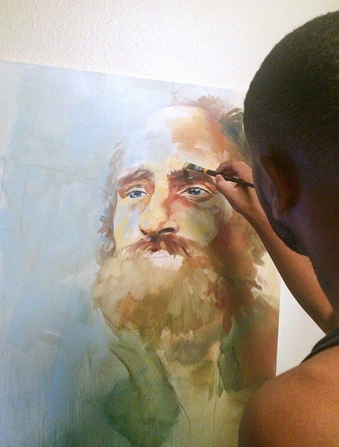 dipinti-ritratti-di-senzatetto-beneficenza-brian-peterson-4-keblog
