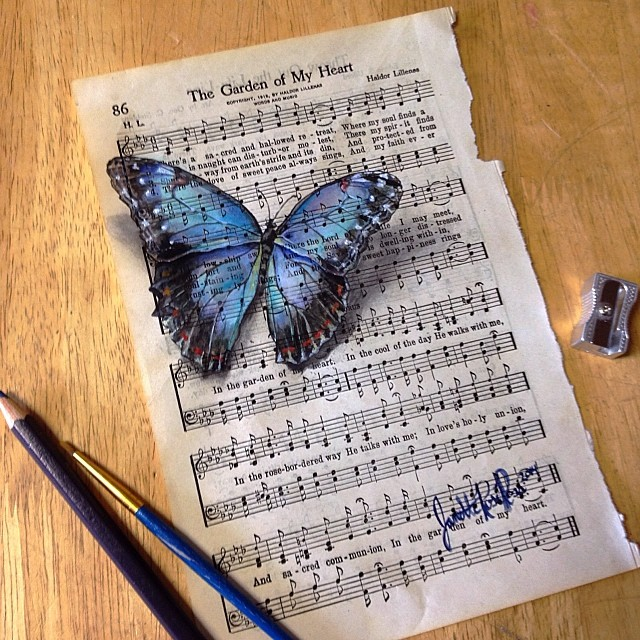 dipinti-su-foglie-spartiti-musicali-natura-janette-rose-7