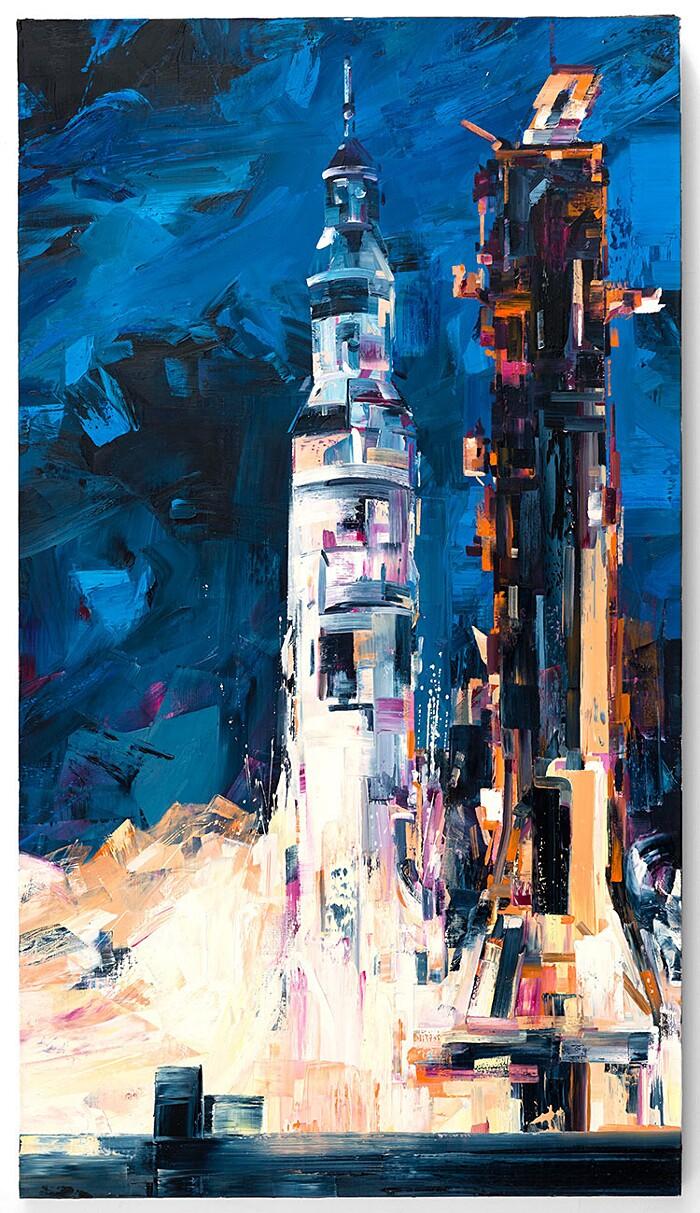 dipinti-uomo-nello-spazio-macchina-umani-arte-michael-kagen-1