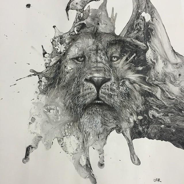 disegni-illustrazioni-animali-ritratti-macchie-caos-glen-ronald-06