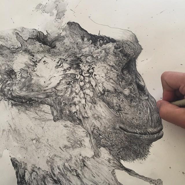 disegni-illustrazioni-animali-ritratti-macchie-caos-glen-ronald-08