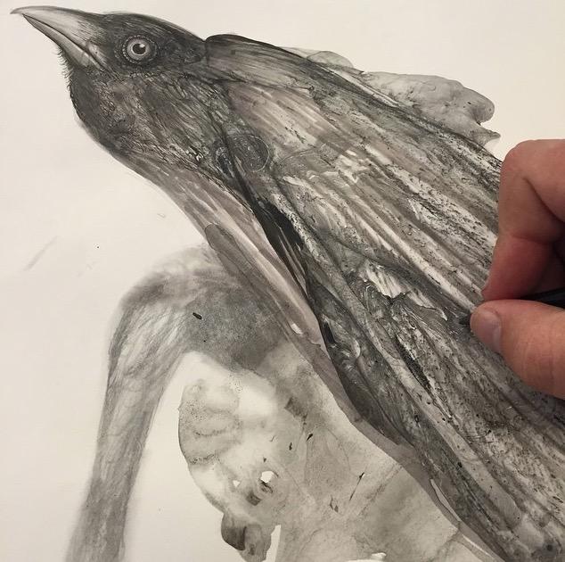 disegni-illustrazioni-animali-ritratti-macchie-caos-glen-ronald-11