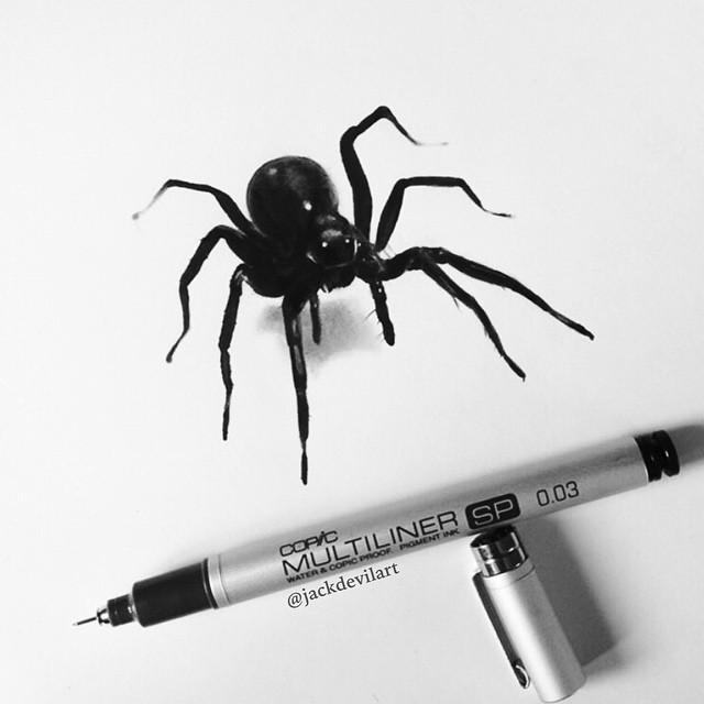 disegni-iperrealistici-miniatura-penna-matita-johanna-jackdevil-06