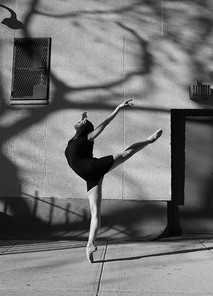 Assez Ritratti in bianco e nero di ballerine a New York della fotografa  EI89