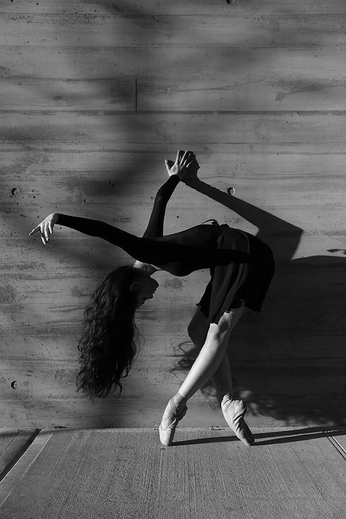 Ritratti in bianco e nero di ballerine a new york della for Foto alta definizione bianco e nero