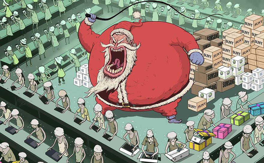 illustrazioni-criticano-società-caricatura-mondo-steve-cutts-07