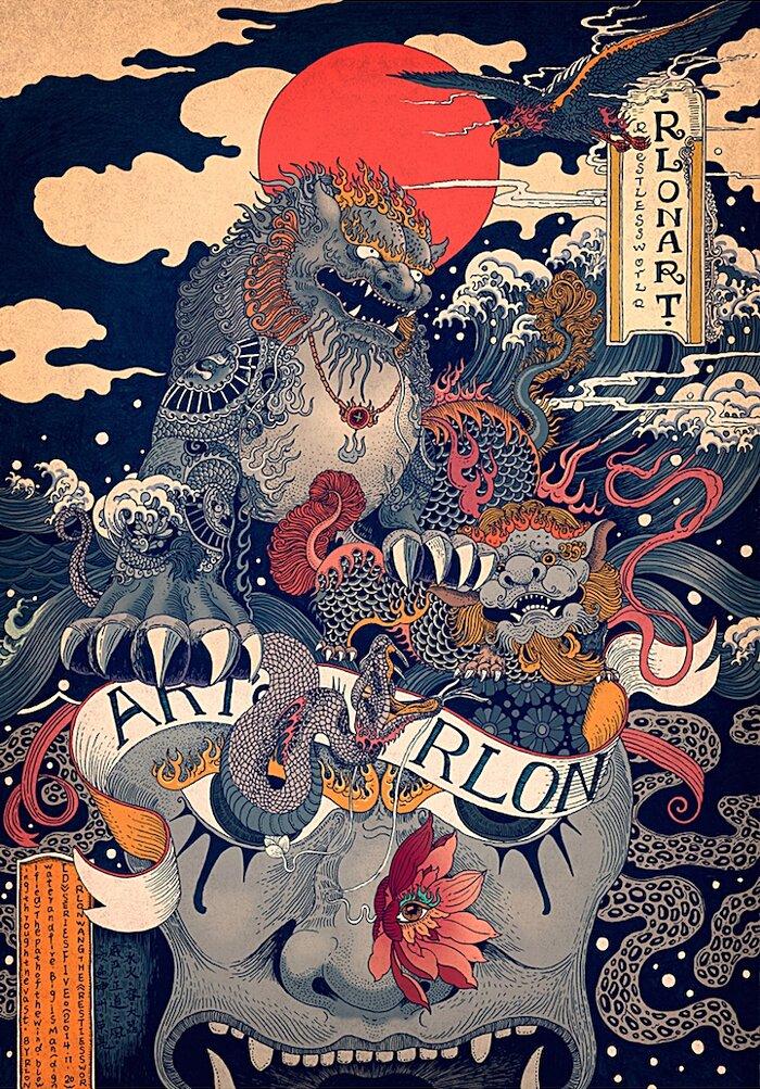 illustrazioni-disegni-arte-tradizionale-cinese-rlon-wang-03-keb