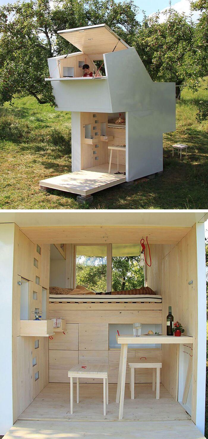 29 mini case che sfruttano al massimo i piccoli spazi keblog for Small house design germany