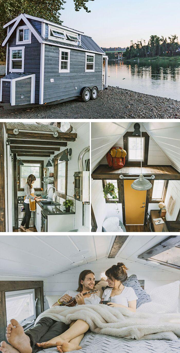 23 mini case che sfruttano al massimo i piccoli spazi keblog for Mini case interni