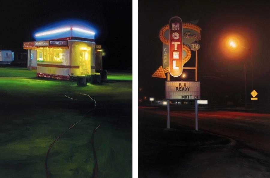 pittura-iperrealista-scene-notturne-luci-arte-sarah-williams-04