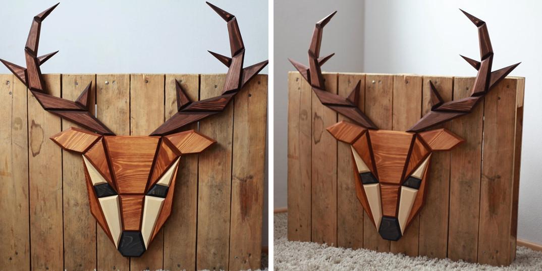 sculture-geometriche-pannelli-decorativi-legno-teste-animali-poligon-2