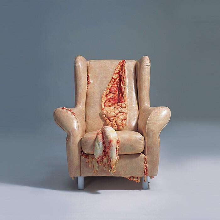 sculture-oggetti-carne-ossa-organi-interni-grasso-cao-hui5
