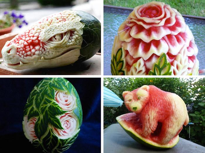 21 sculture su anguria troppo belle per essere mangiate for Arredamento stile underground