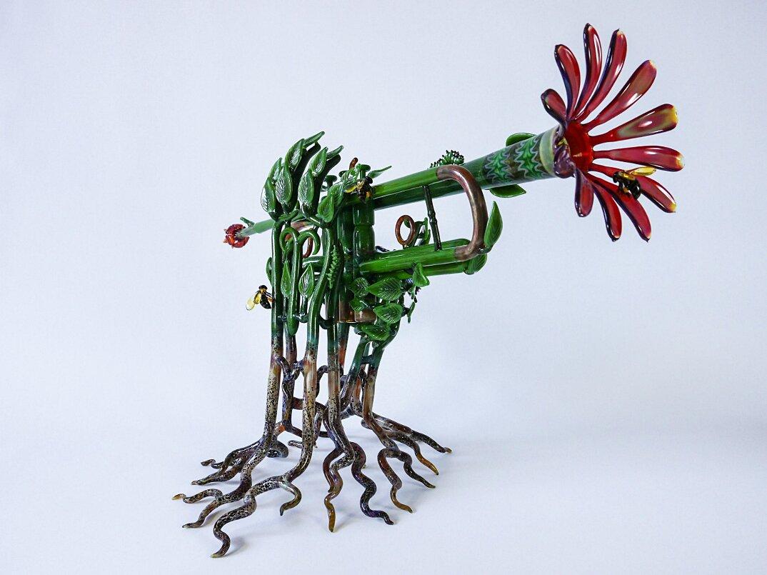 sculture-vetro-soffiato-trombe-natura-symphony-of-the-seasons-etai-rahmil-02