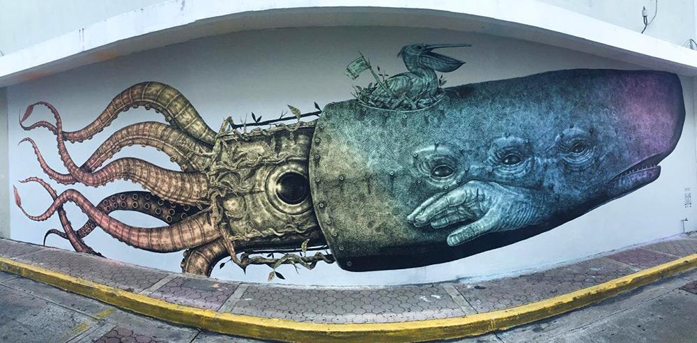 street-art-murali-dipinti-animali-ibridi-surreali-alexis-diax-5