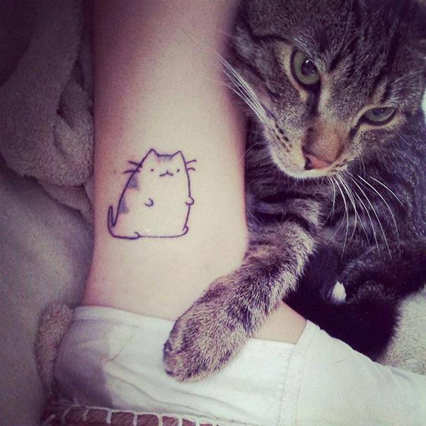 tatuaggi-gatti-minimalisti-13