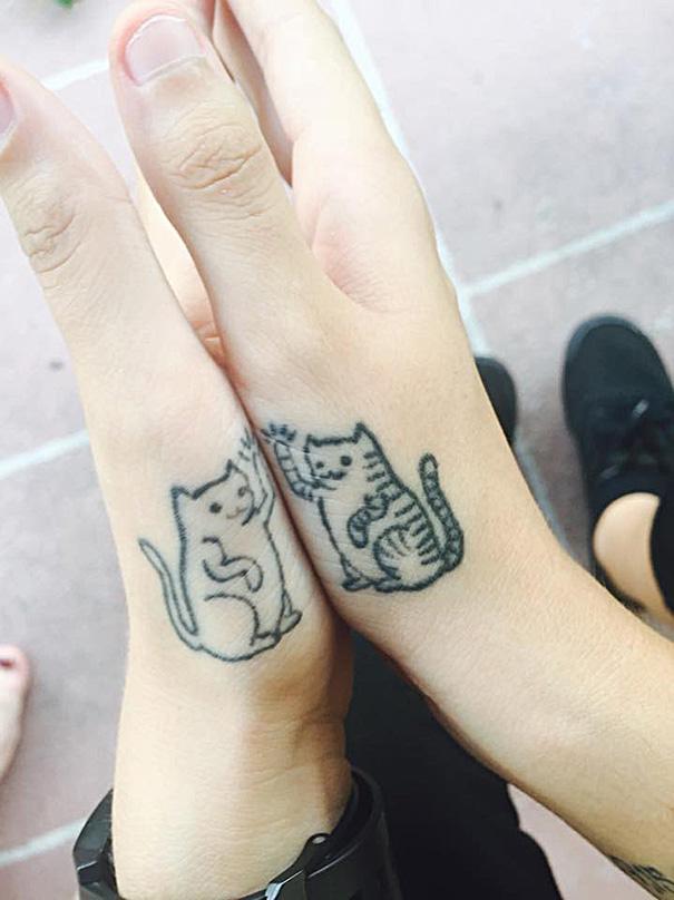 tatuaggi-gatti-minimalisti-33