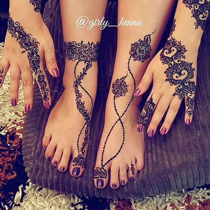 Tatuaggi Henne Mani Piedi 16 Keblog