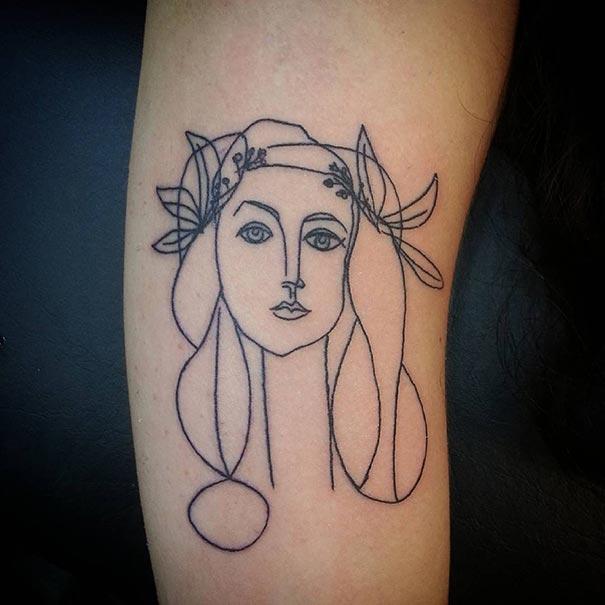 tatuaggi-minimalisti-arte-picasso-cubismo-02