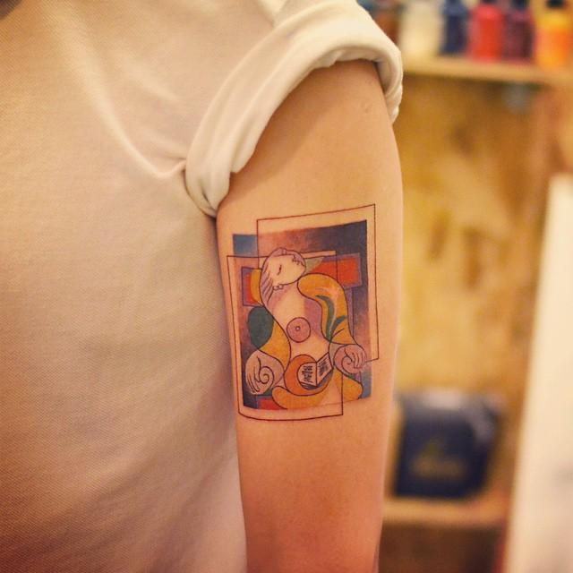 tatuaggi-minimalisti-arte-picasso-cubismo-14