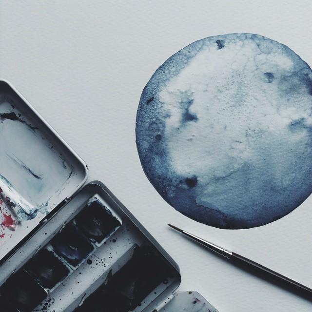 acquerelli-blu-monocromatici-luna-michal-friese-arte-3