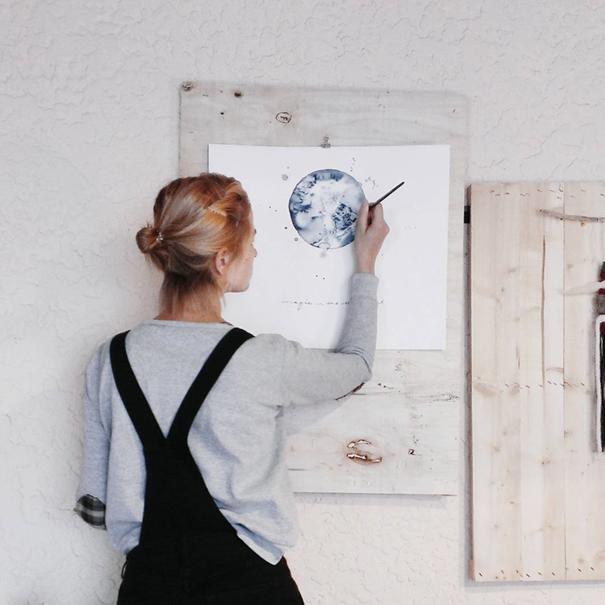 acquerelli-blu-monocromatici-luna-michal-friese-arte-8