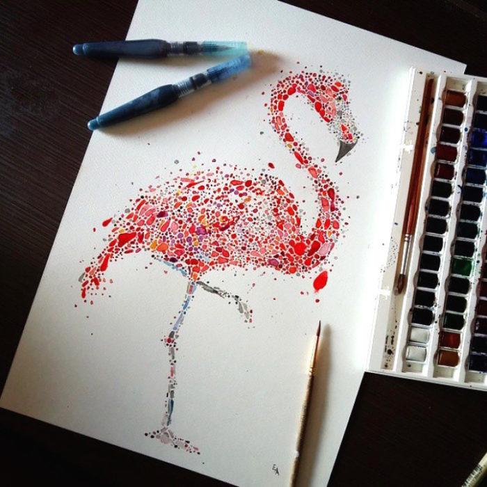 acquerelli-macchie-puntinismo-animali-ana-enshina-06