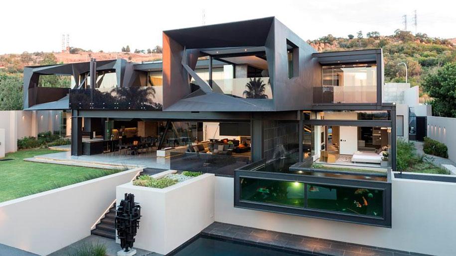 Super Ogni stanza di questa casa moderna si apre all'esterno - KEBLOG MP94