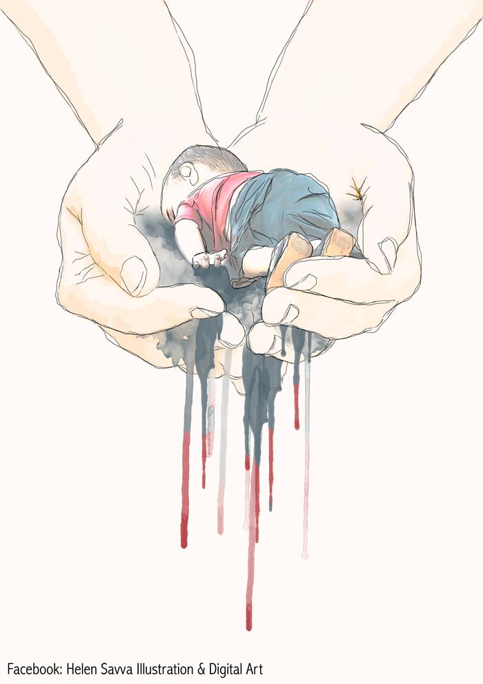 bambino-siriano-morto-annegato-mediterraneo-tragedia-artisti-rispondono-44