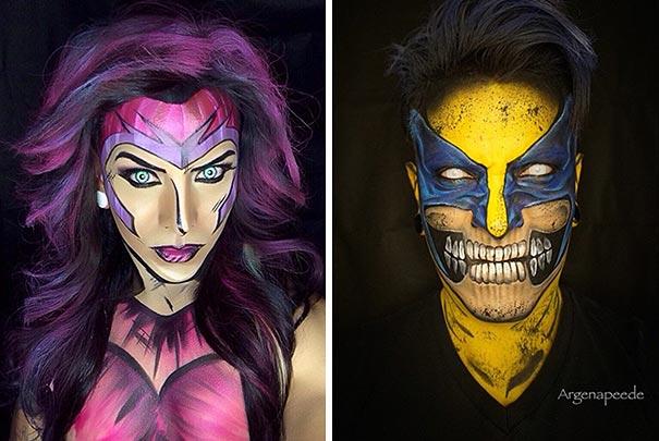 body-art-make-up-artist-personaggi-fumetti-cosplay-argenis-pinal-06