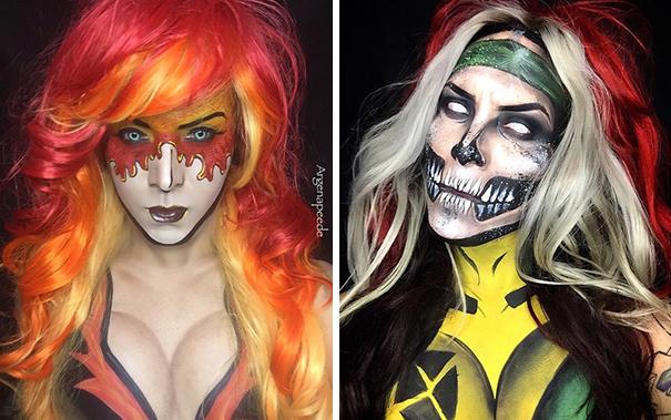 body-art-make-up-artist-personaggi-fumetti-cosplay-argenis-pinal-10