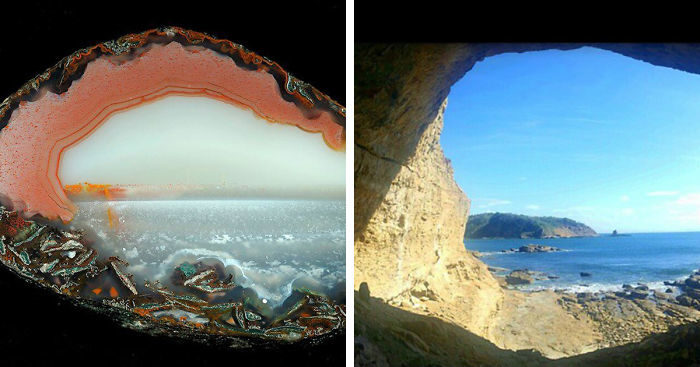 Cristalli Di Agata Che Sembrano Paesaggi